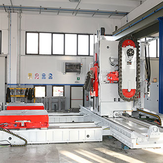 DS1200/300C RAM Horizontal Machining Center