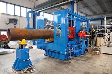 Large Pipe End Machine